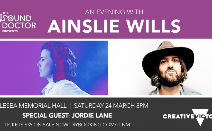 March music on its way – Jen is sold out