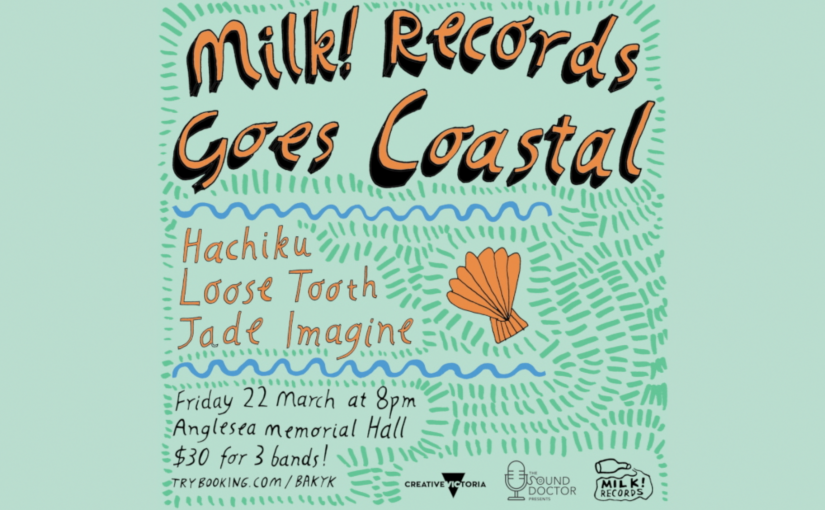 Milk! Records Goes Coastal